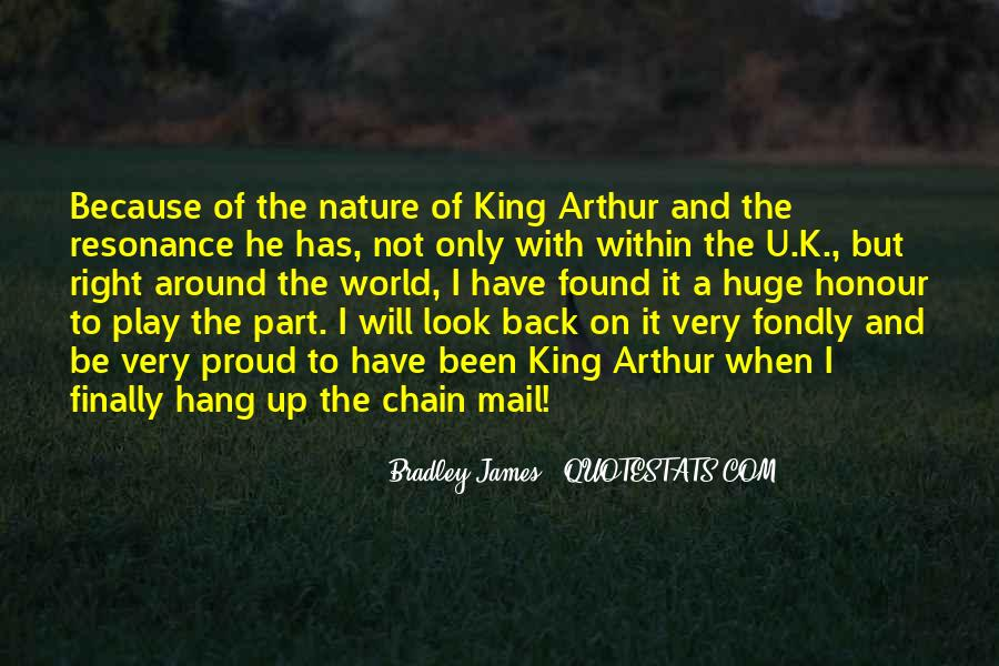 Quotes About King Arthur #934728