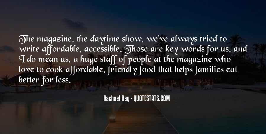 Rachael Quotes #104826