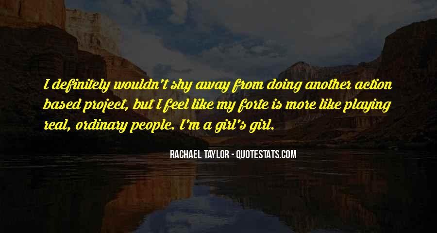 Rachael Quotes #111803