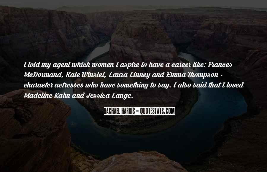Rachael Quotes #168838