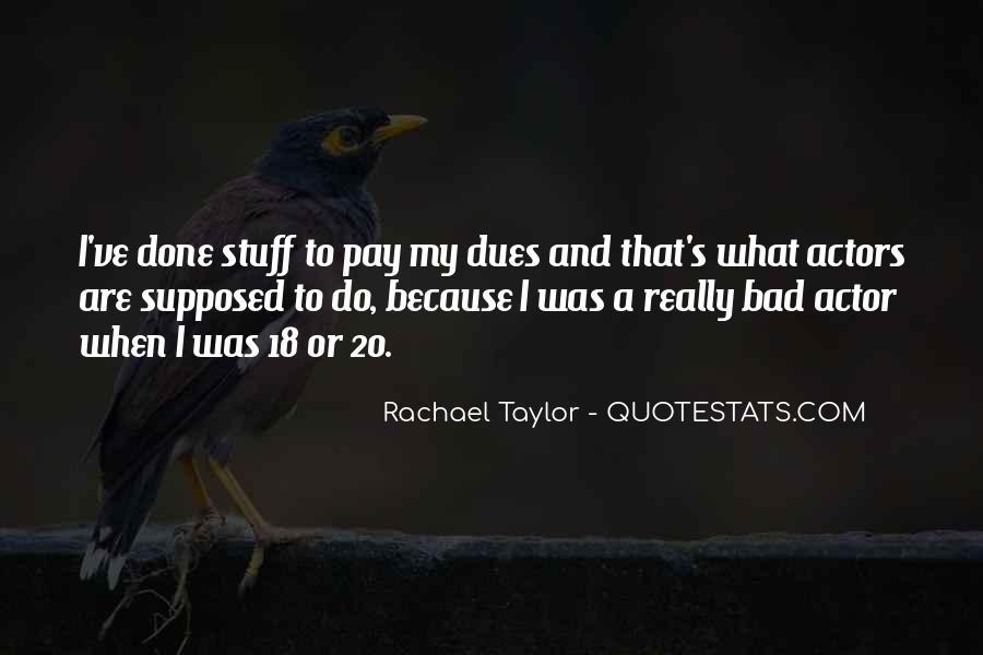 Rachael Quotes #218816