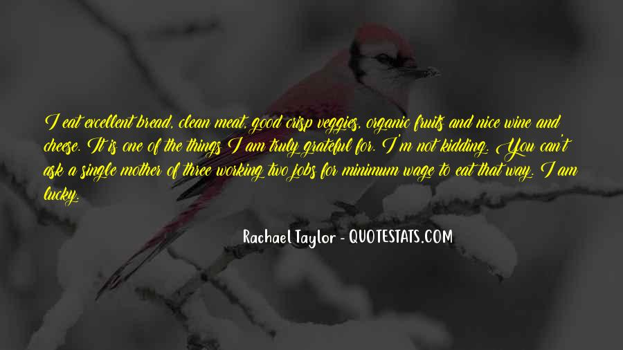 Rachael Quotes #22983