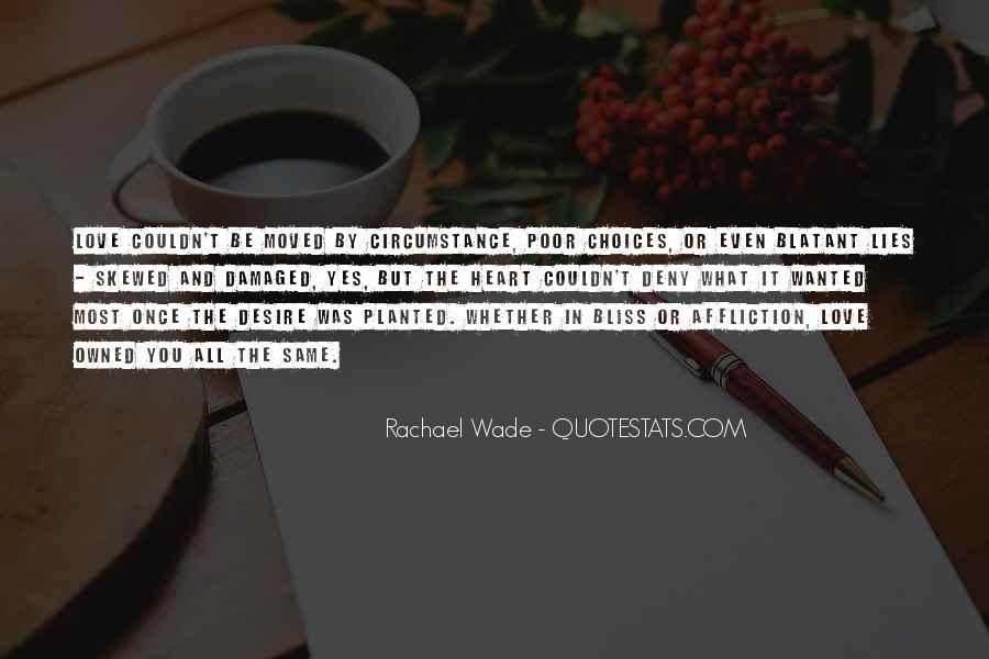 Rachael Quotes #287982