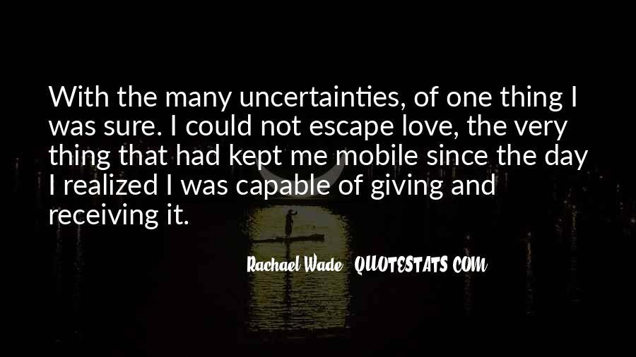 Rachael Quotes #325996