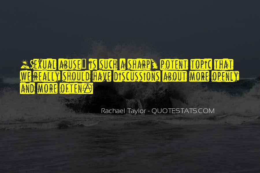 Rachael Quotes #405807