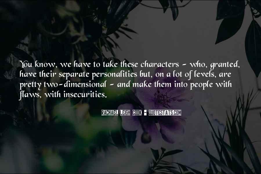 Rachael Quotes #407448