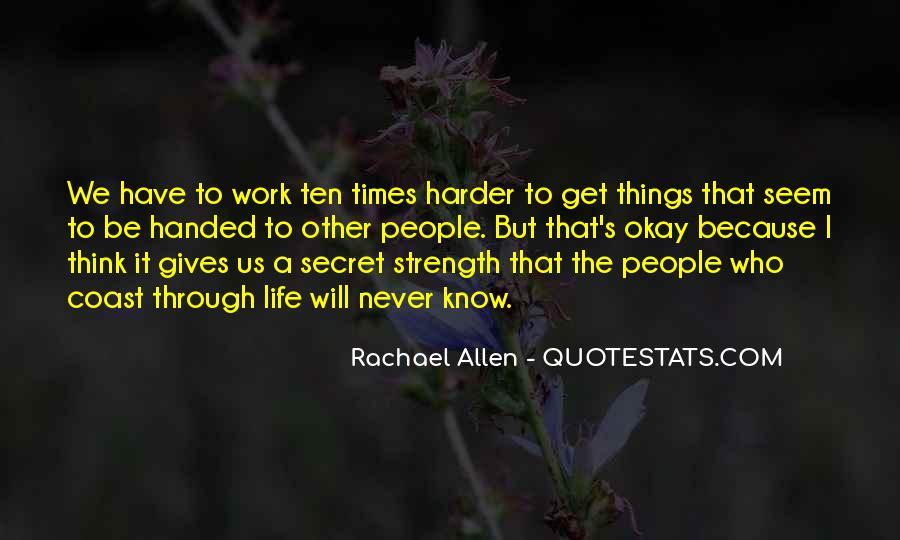 Rachael Quotes #434357