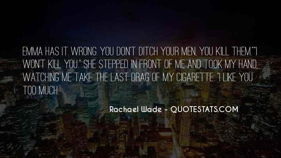Rachael Quotes #468224