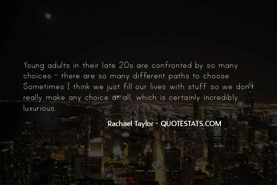 Rachael Quotes #634372