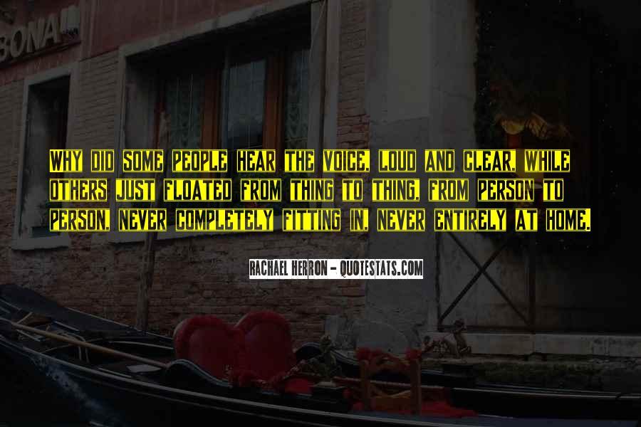 Rachael Quotes #9601