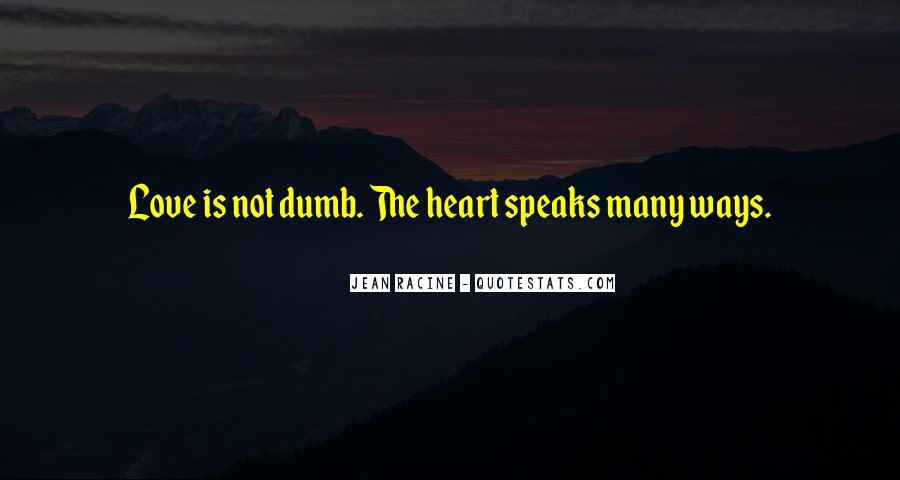 Racine Love Quotes #106784