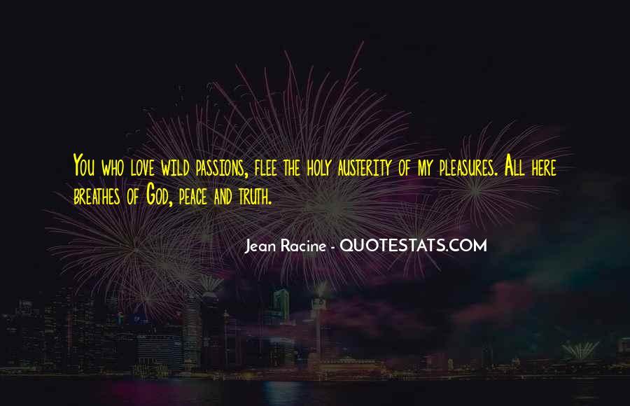 Racine Love Quotes #1631762