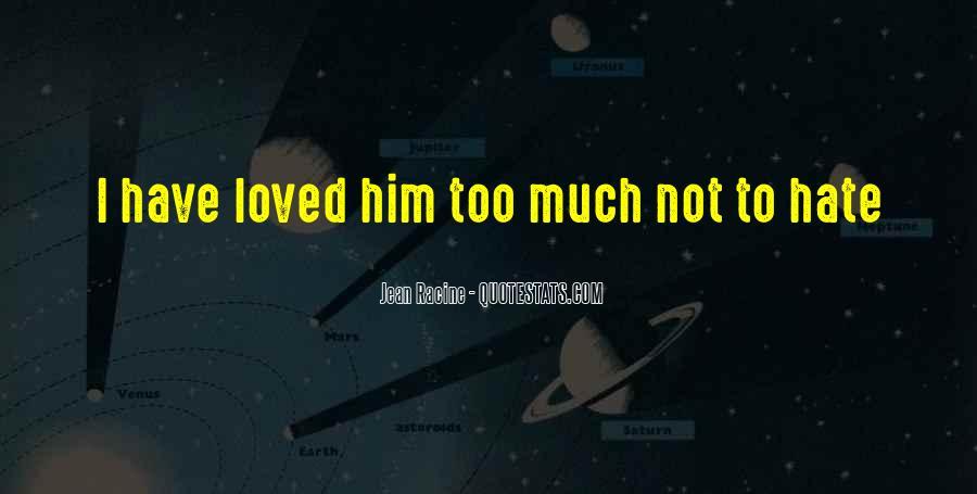 Racine Love Quotes #98256