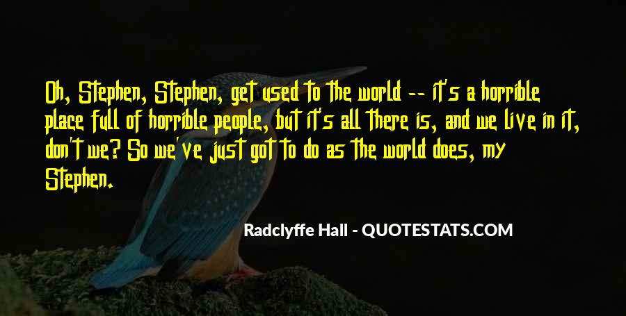Radclyffe Quotes #593147