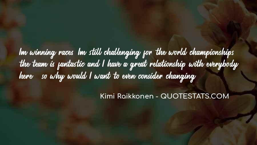 Raikkonen Best Quotes #808675