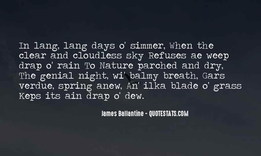 Rain Dew Quotes #103771