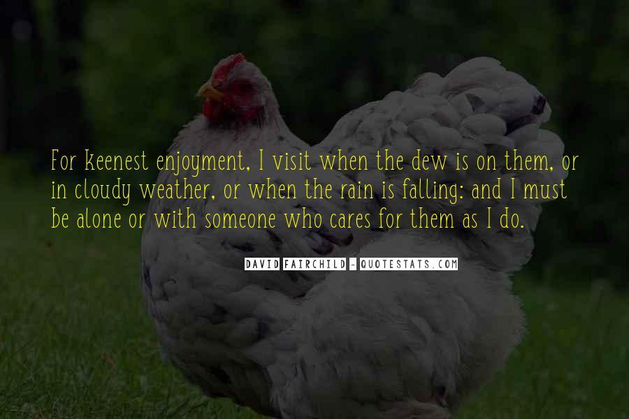 Rain Dew Quotes #1165734