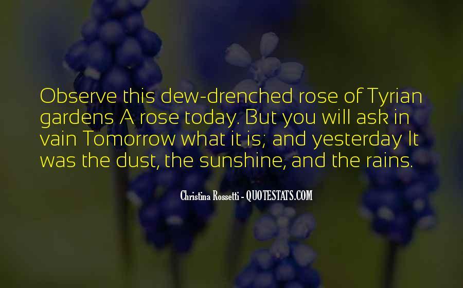 Rain Dew Quotes #1463764