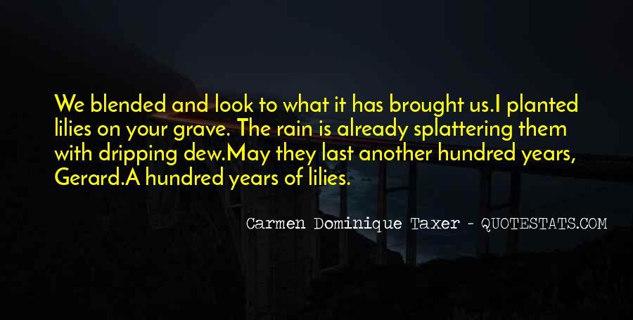 Rain Dew Quotes #1681842
