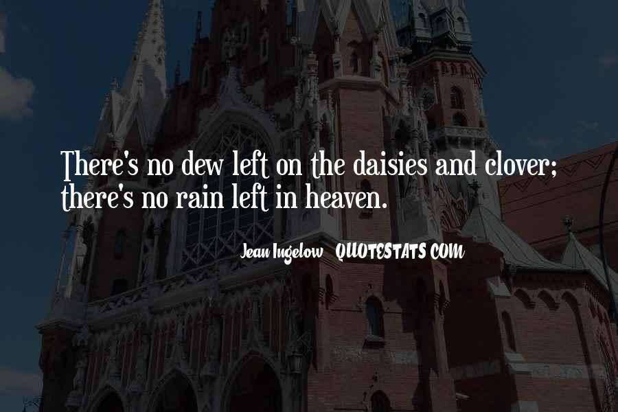 Rain Dew Quotes #662355
