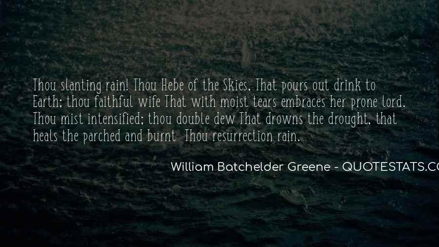 Rain Dew Quotes #912397