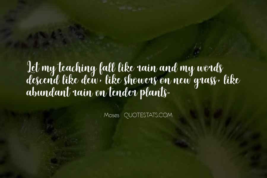 Rain Dew Quotes #99379