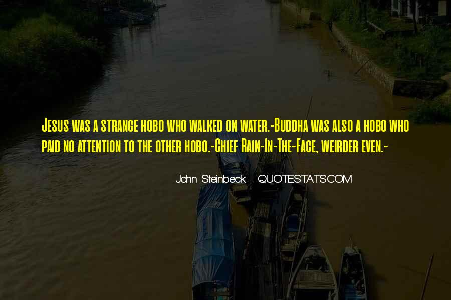 Rain In The Face Quotes #1110896