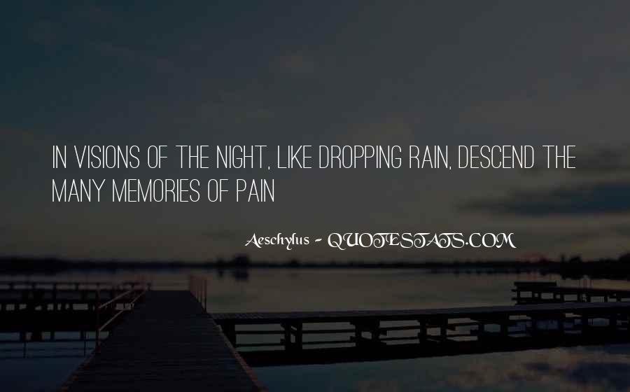 Rain In The Night Quotes #1004606