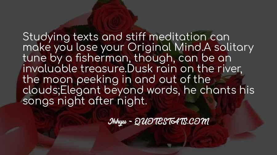 Rain In The Night Quotes #1144932