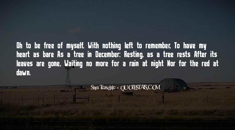 Rain In The Night Quotes #1201880