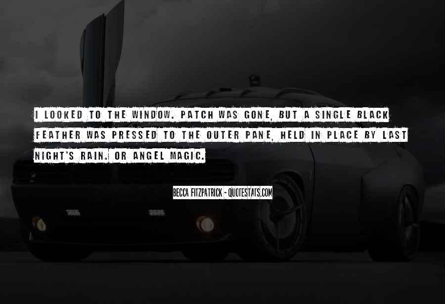Rain In The Night Quotes #1217548