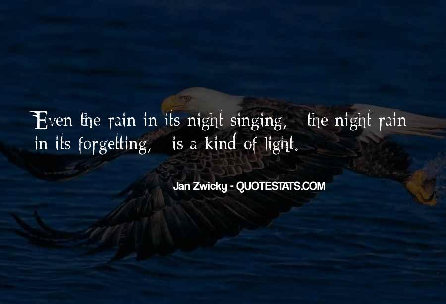 Rain In The Night Quotes #1327494