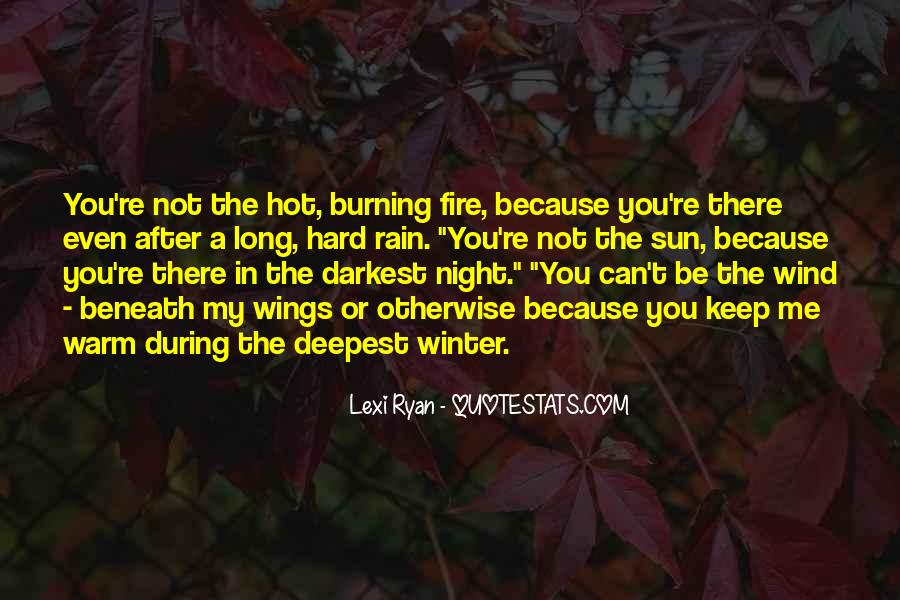 Rain In The Night Quotes #1519237