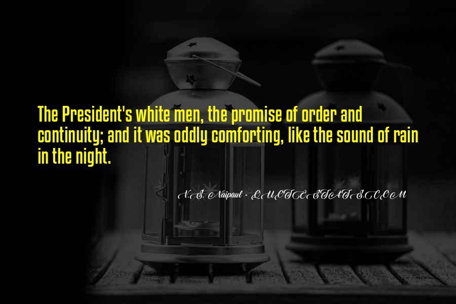 Rain In The Night Quotes #1606875