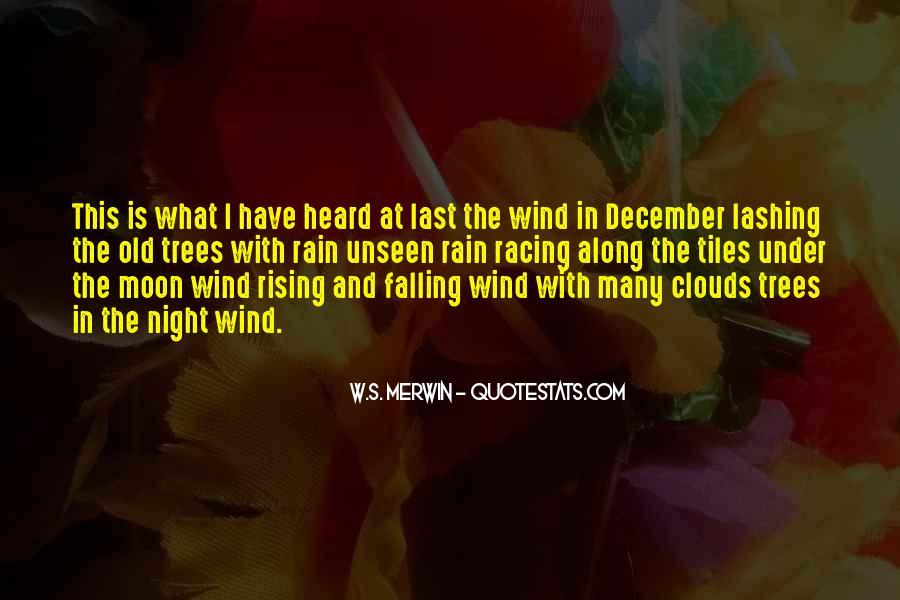 Rain In The Night Quotes #1621437