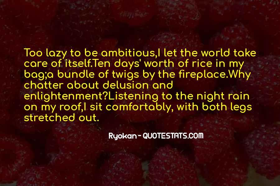 Rain In The Night Quotes #1638373