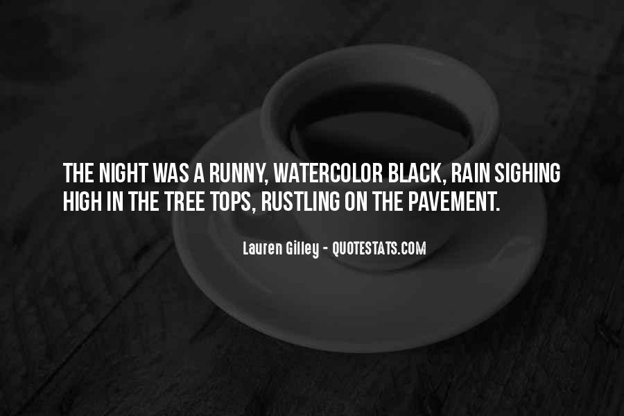 Rain In The Night Quotes #1658356