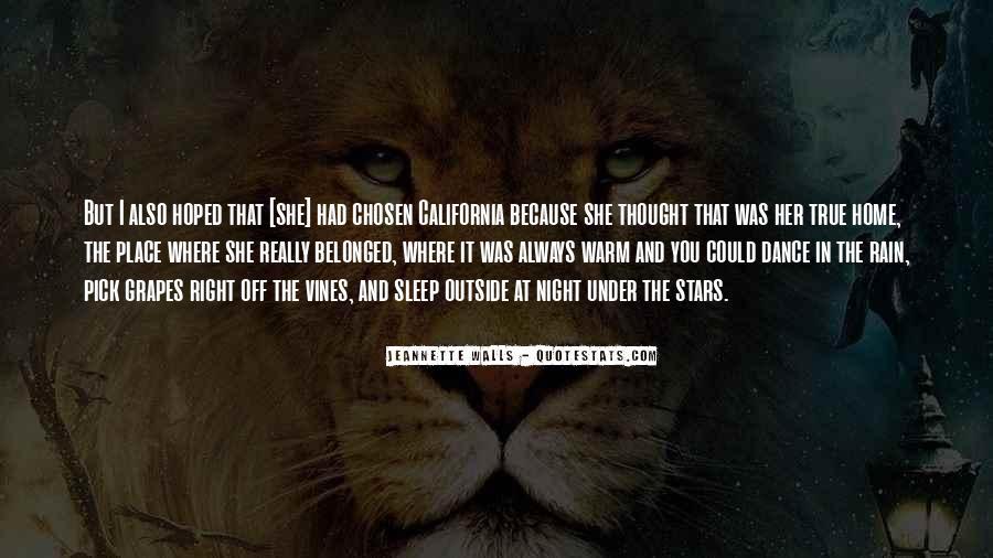 Rain In The Night Quotes #1783474