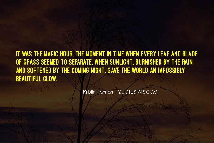 Rain In The Night Quotes #1838595