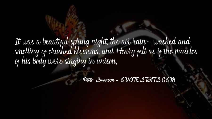 Rain In The Night Quotes #221076