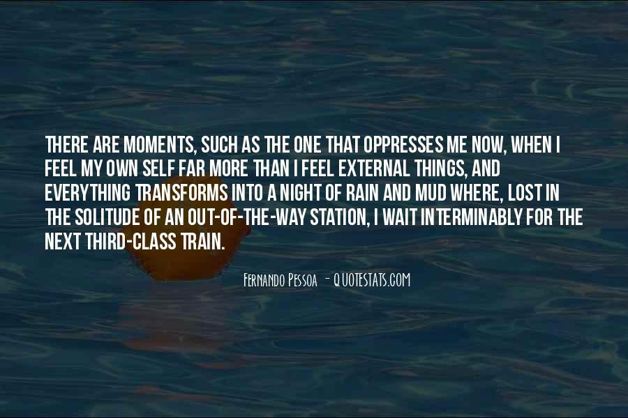 Rain In The Night Quotes #272492