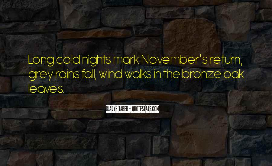 Rain In The Night Quotes #285843