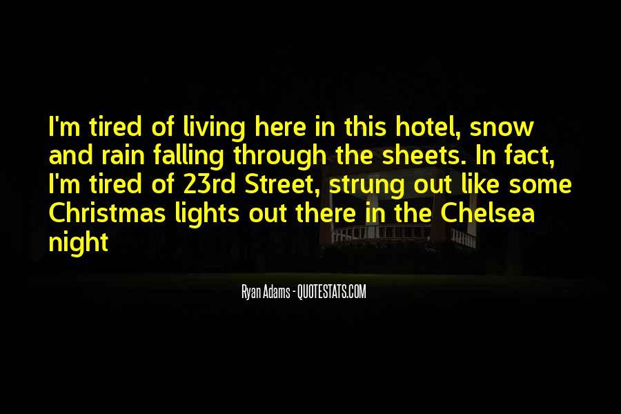 Rain In The Night Quotes #371949
