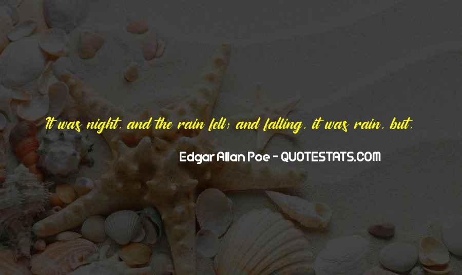 Rain In The Night Quotes #449411
