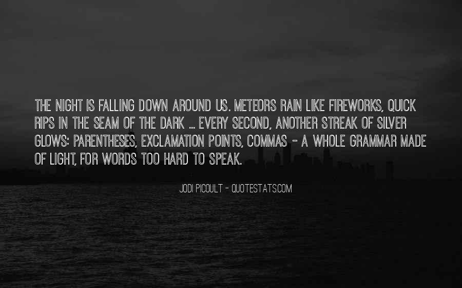 Rain In The Night Quotes #506914