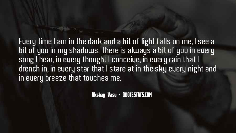 Rain In The Night Quotes #521312