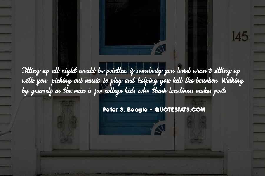 Rain In The Night Quotes #616708