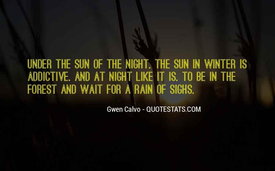 Rain In The Night Quotes #670337