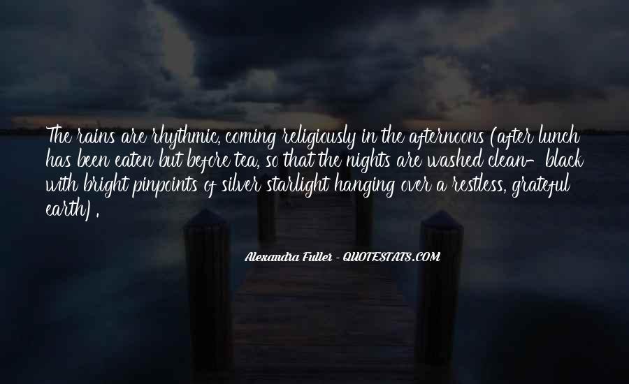 Rain In The Night Quotes #699206