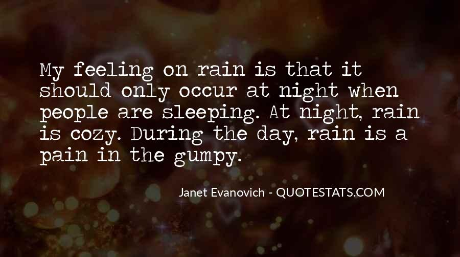Rain In The Night Quotes #771624